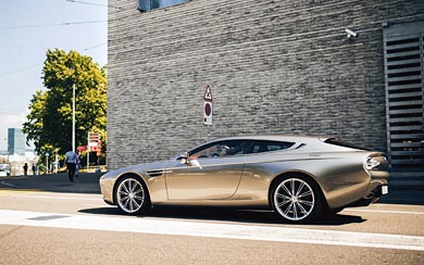 2014 Zagato Aston Martin Virage Shooting Brake wallpaper thumbnail.