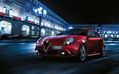 2015 Alfa Romeo Giulietta Sprint wallpaper thumbnail.