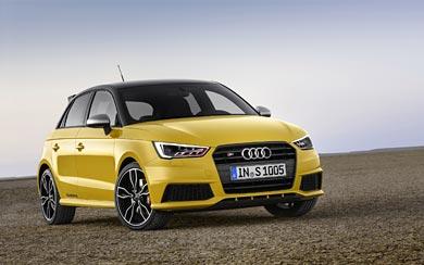 2015 Audi S1 Sportback wallpaper thumbnail.