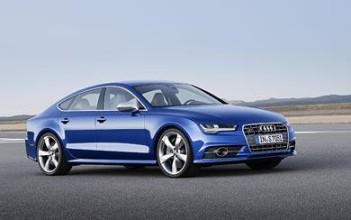 2015 Audi S7 Sportback wallpaper thumbnail.
