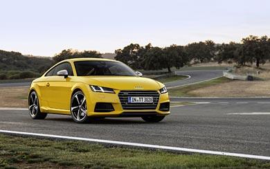 2015 Audi TTS wallpaper thumbnail.