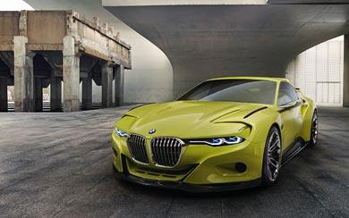 2015 BMW 3.0 CSL Hommage Concept wallpaper thumbnail.