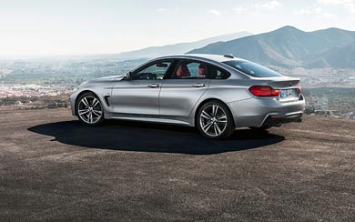 2015 BMW 4-Series Gran Coupe wallpaper thumbnail.