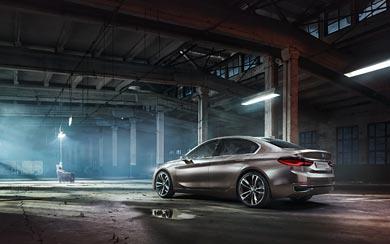 2015 BMW Compact Sedan Concept wallpaper thumbnail.
