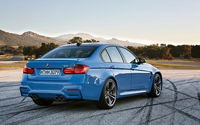 2015 BMW M3 Sedan wallpaper thumbnail.