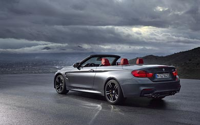 2015 BMW M4 Convertible wallpaper thumbnail.