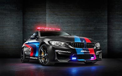 2015 BMW M4 Coupe MotoGP Safety Car wallpaper thumbnail.