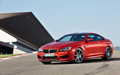 2015 BMW M6 Coupe wallpaper thumbnail.