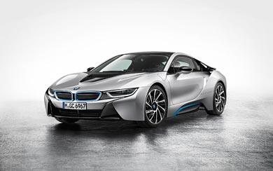 2015 BMW i8 wallpaper thumbnail.