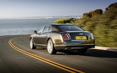 2015 Bentley Mulsanne Speed wallpaper thumbnail.