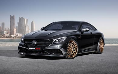 2015 Brabus 850 6.0 Biturbo Coupe wallpaper thumbnail.