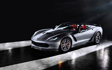 2015 Chevrolet Corvette Z06 Convertible wallpaper thumbnail.