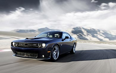 2015 Dodge Challenger SRT Hellcat wallpaper thumbnail.