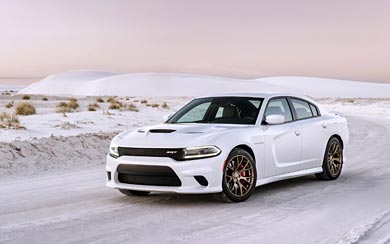2015 Dodge Charger SRT Hellcat wallpaper thumbnail.