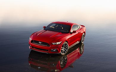 2015 Ford Mustang GT wallpaper thumbnail.
