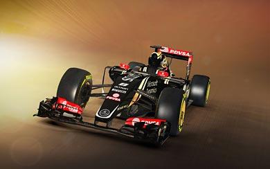 2015 Lotus Renault F1 E23 wallpaper thumbnail.
