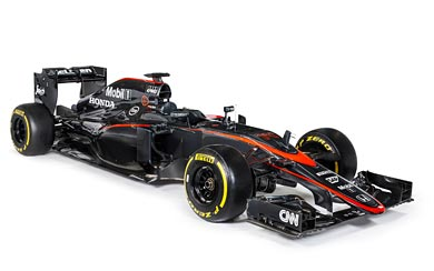 2015 McLaren MP4-30 wallpaper thumbnail.