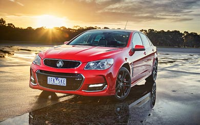 2015 Holden Commodore SSV wallpaper thumbnail.