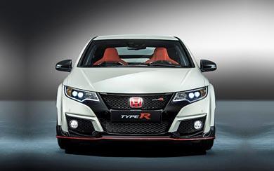 2015 Honda Civic Type R wallpaper thumbnail.