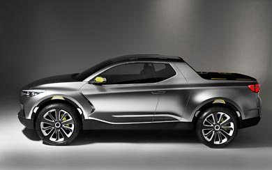 2015 Hyundai Santa Cruz Crossover Truck Concept wallpaper thumbnail.