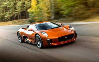 2015 Jaguar C-X75 Bond Concept wallpaper thumbnail.