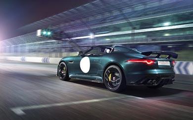 2015 Jaguar F-Type Project 7 wallpaper thumbnail.