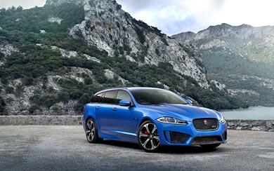 2015 Jaguar XFR-S Sportbrake wallpaper thumbnail.