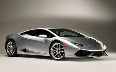 2015 Lamborghini Huracan LP610-4 wallpaper thumbnail.