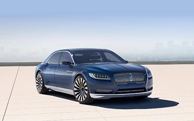 2015 Lincoln Continental Concept wallpaper thumbnail.