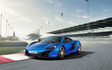 2015 McLaren 650S wallpaper thumbnail.