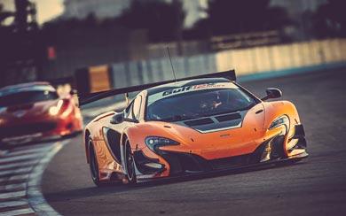 2015 McLaren 650S GT3 wallpaper thumbnail.