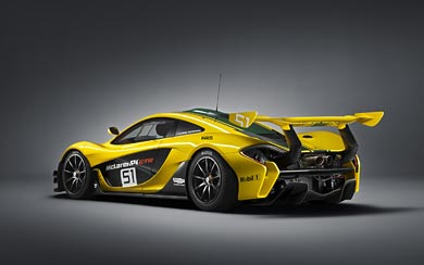 2015 McLaren P1 GTR wallpaper thumbnail.