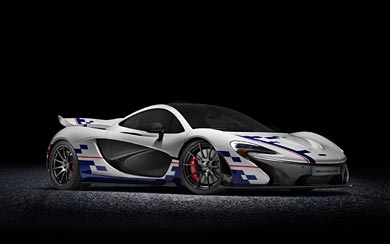 2015 McLaren P1 Prost wallpaper thumbnail.