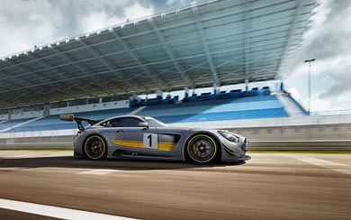 2015 Mercedes-AMG GT3 wallpaper thumbnail.