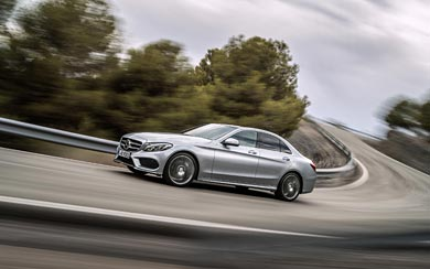 2015 Mercedes-Benz C-Class wallpaper thumbnail.