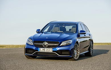 2015 Mercedes-Benz C63 AMG wallpaper thumbnail.