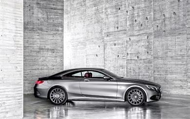 2015 Mercedes-Benz S-Class Coupe wallpaper thumbnail.
