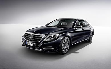 2015 Mercedes-Benz S600 wallpaper thumbnail.