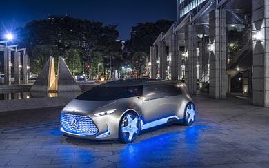 2015 Mercedes-Benz Vision Tokyo Concept wallpaper thumbnail.