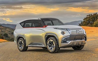 2015 Mitsubishi GC-PHEV Concept wallpaper thumbnail.