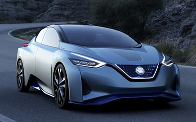 2015 Nissan IDS Concept wallpaper thumbnail.
