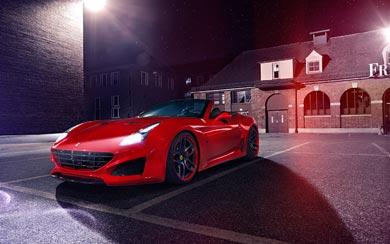 2015 Novitec Rosso Ferrari California T N-Lago wallpaper thumbnail.