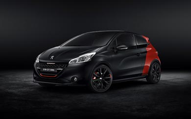 2015 Peugeot 208 GTi 30th Anniversary Edition wallpaper thumbnail.
