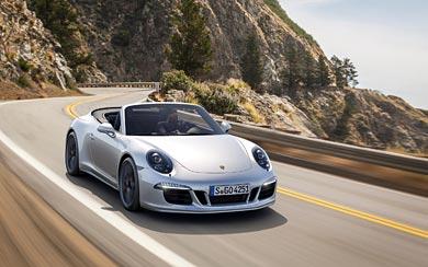 2015 Porsche 911 Carrera GTS wallpaper thumbnail.