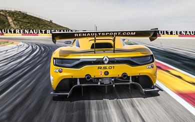 2015 Renault Sport RS 01 wallpaper thumbnail.