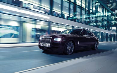 2015 Rolls-Royce Ghost V-Specification wallpaper thumbnail.