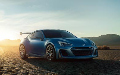 2015 Subaru BRZ STI Performance Concept wallpaper thumbnail.