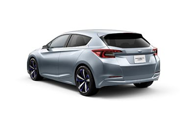 2015 Subaru Impreza 5-Door Concept wallpaper thumbnail.