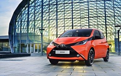 2015 Toyota Aygo wallpaper thumbnail.
