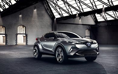 2015 Toyota C-HR Concept wallpaper thumbnail.